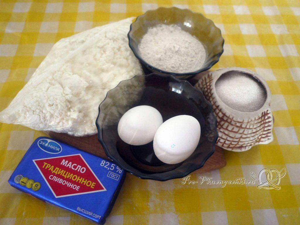 Творожный пудинг в духовке - ингредиенты