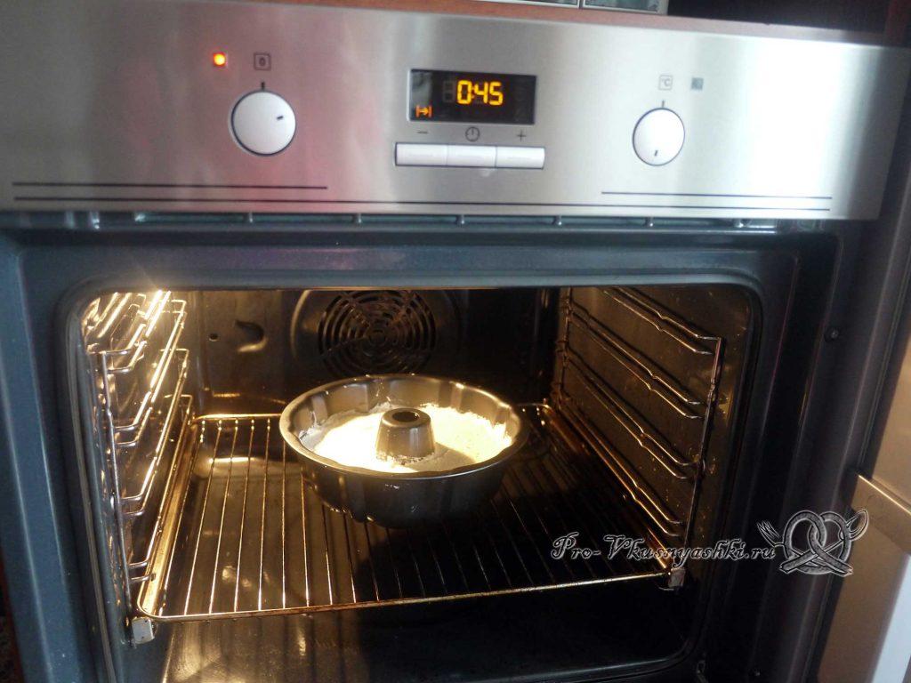 Творожный пудинг в духовке - выпекаем пудинг
