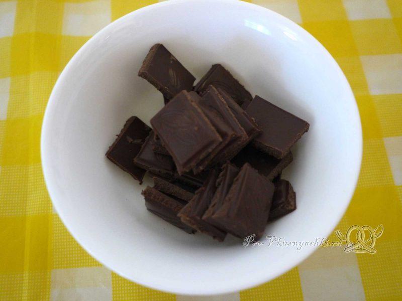 Творожный торт с желатином и малиной - топим шоколад