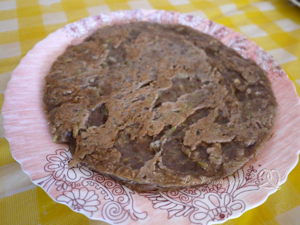 Сладкий торт из кабачков - корж