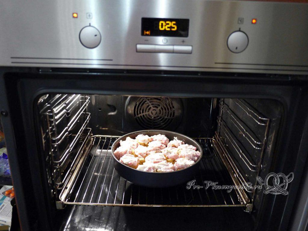 Гнезда из макарон с фаршем в духовке - запекаем гнезда