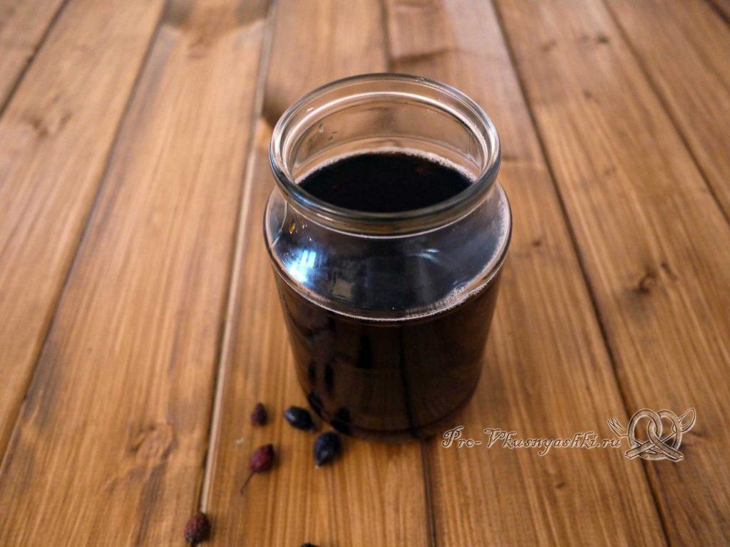 Отвар шиповника из сухих плодов - готовый отвар