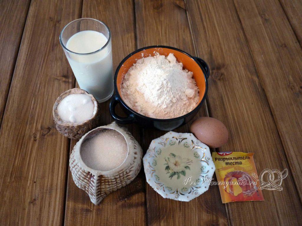Пышные панкейки на молоке - ингредиенты