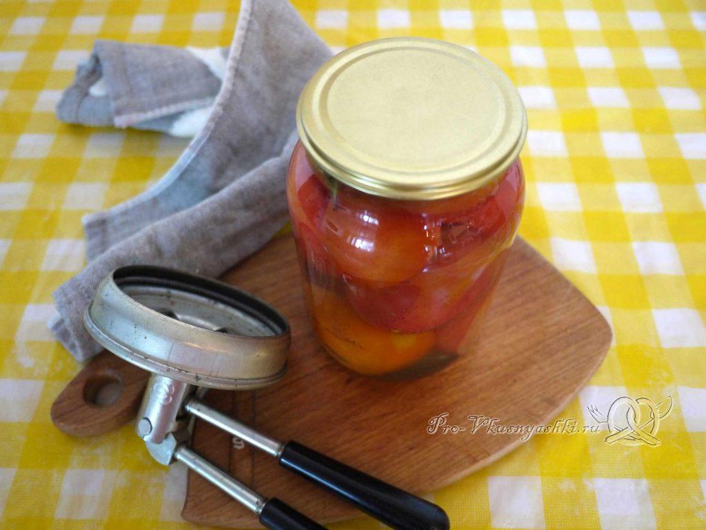 Соленые помидоры на зиму с корицей - закатываем банку