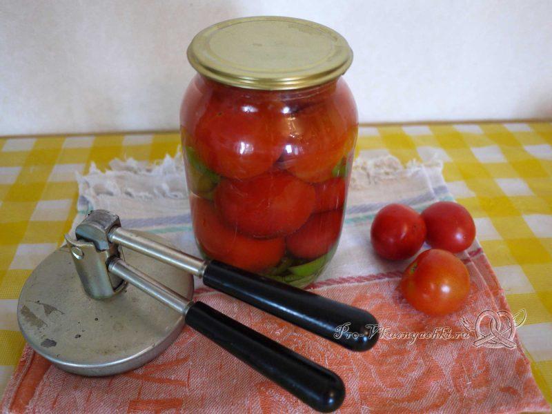 Вкусные маринованные помидоры на зиму с перцем - закрываем крышкой банку