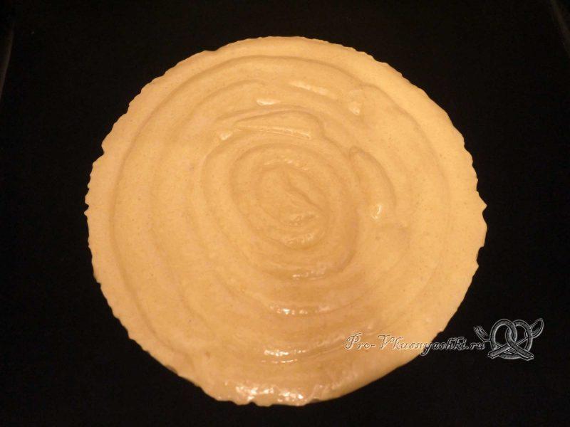Торт «Птичье молоко» с желатином - отсаживаем бисквит