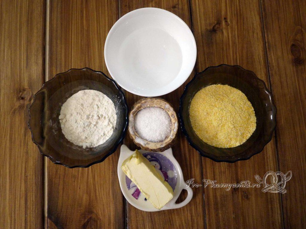 Лепешка Тортилья - ингредиенты