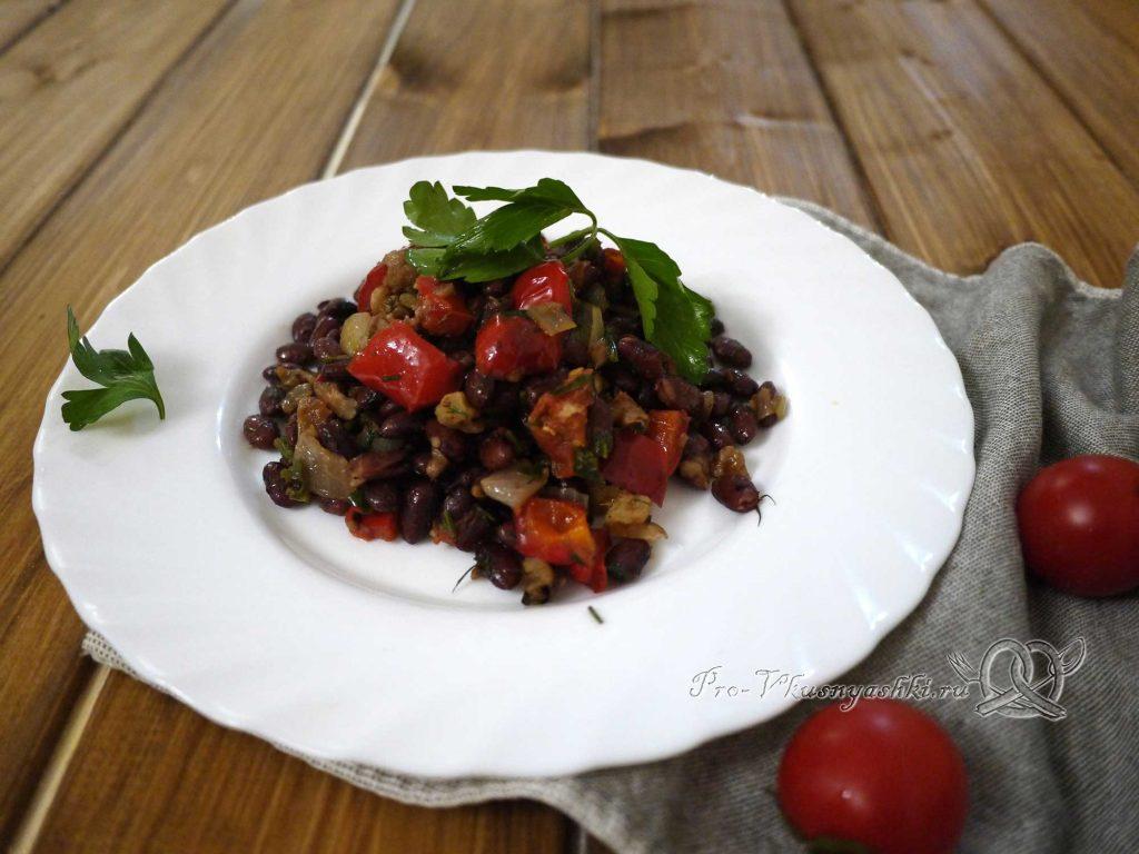 Лобио из фасоли по-грузински - готовое блюдо