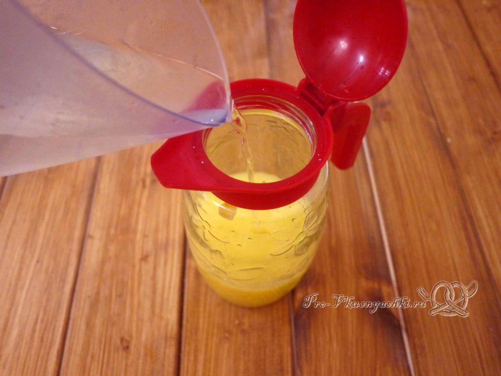 Домашний лимонад из апельсинов - добавляем воду