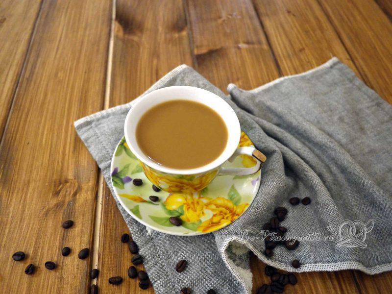 Как правильно сварить кофе в турке - готовый Американо