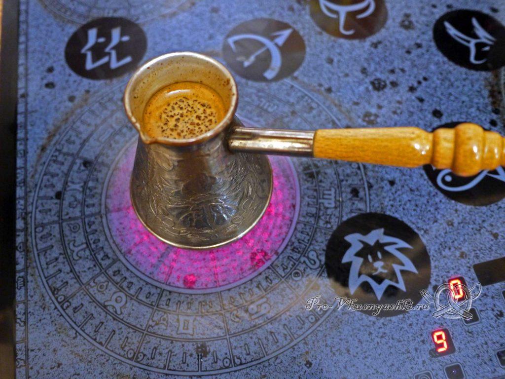 Как правильно сварить кофе в турке - варим