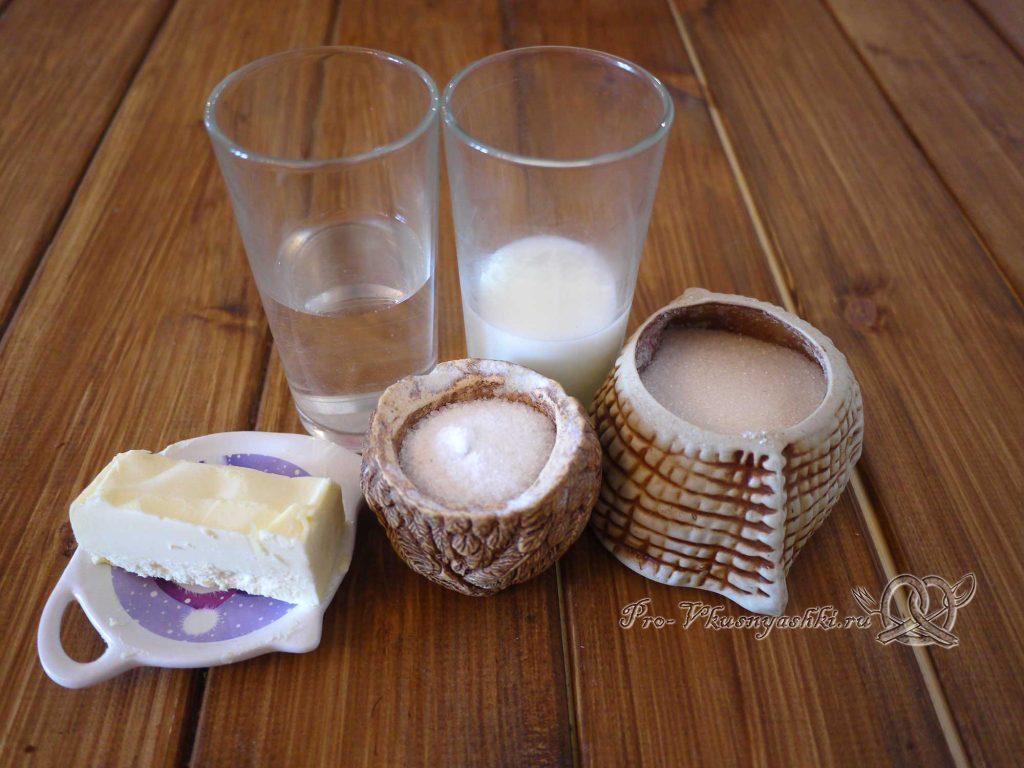 Карамель «Коровка» - ингредиенты