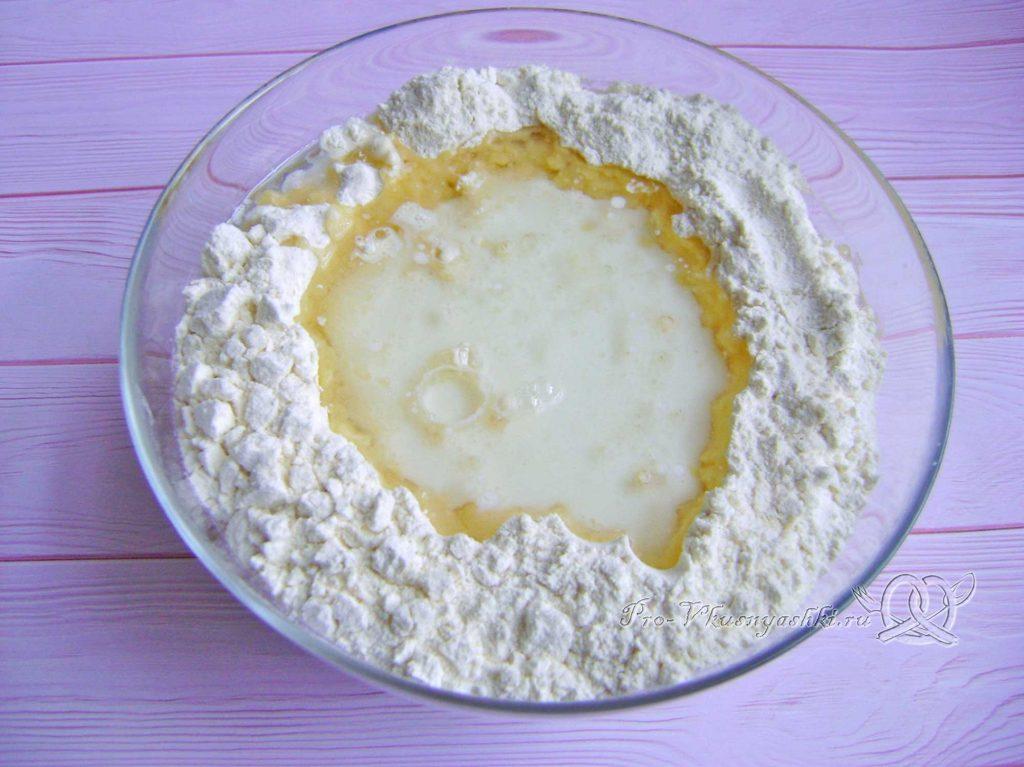 Кыстыбый с картошкой по-татарски - готовим тесто