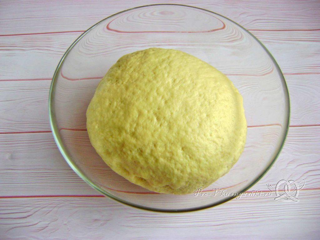 Кыстыбый с картошкой по-татарски - готовое тесто