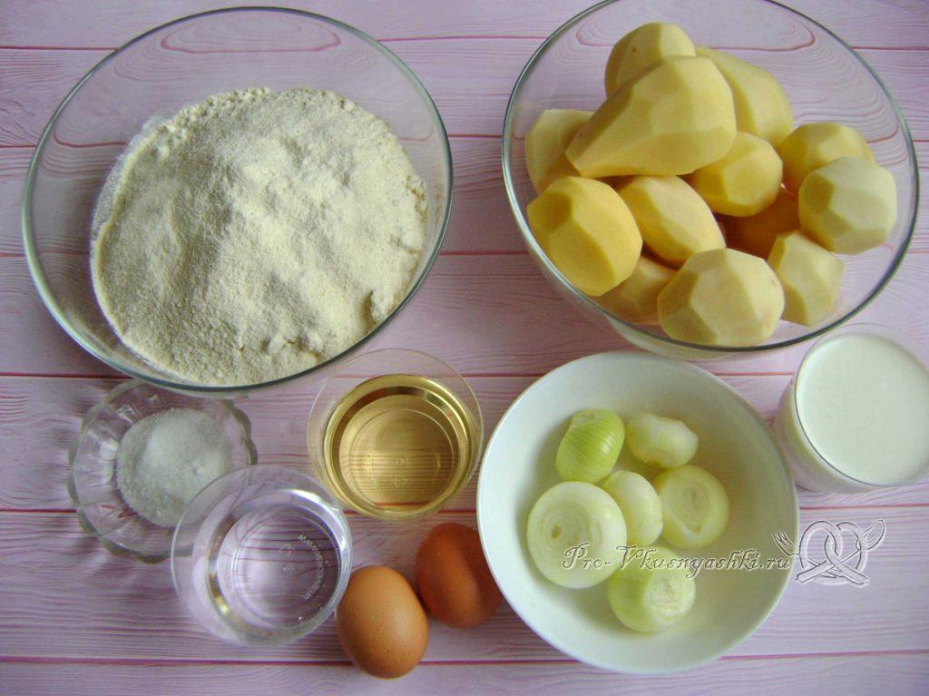 Кыстыбый с картошкой по-татарски - ингредиенты