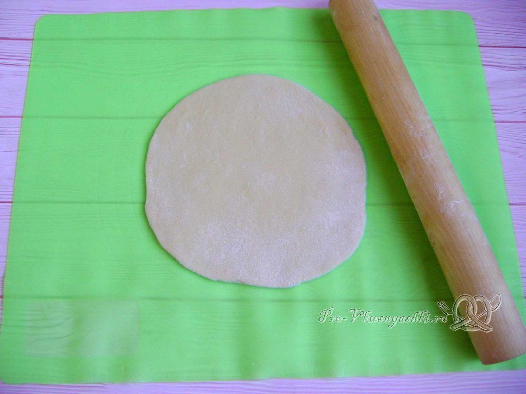 Бэрэнге тэкэсе - раскатываем тесто