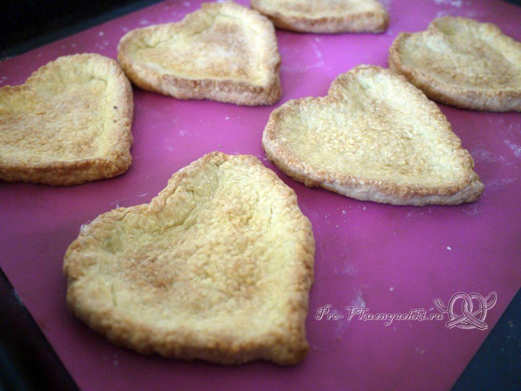 Лаймовые тарталетки с клубникой и мятой - печенье