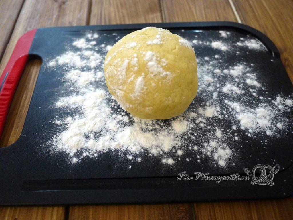 Лаймовые тарталетки с клубникой и мятой - тесто