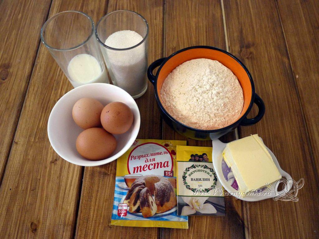 Маффины в домашних условиях - ингредиенты
