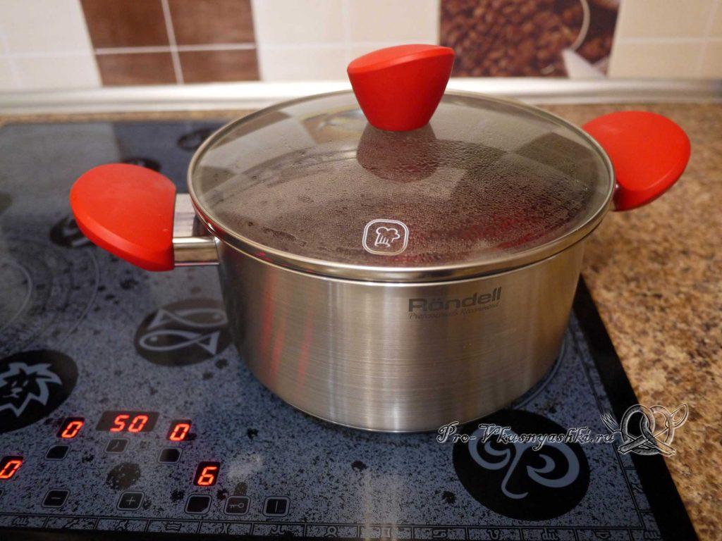 Свекольный суп-пюре с сыром - варим свеклу
