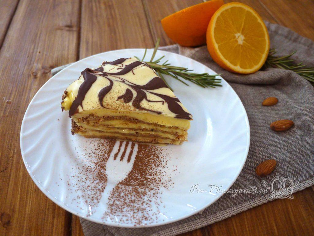 Торт Эстерхази классический - подача