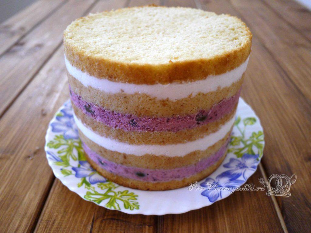 Торт «Ангел» - голый торт