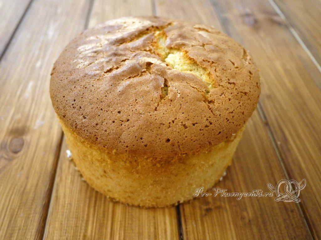 Торт «Ангел» - остужаем бисквит