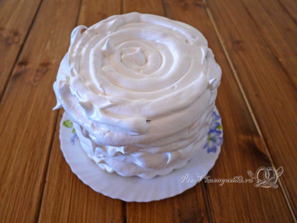 Торт «Ангел» - выравниваем торт