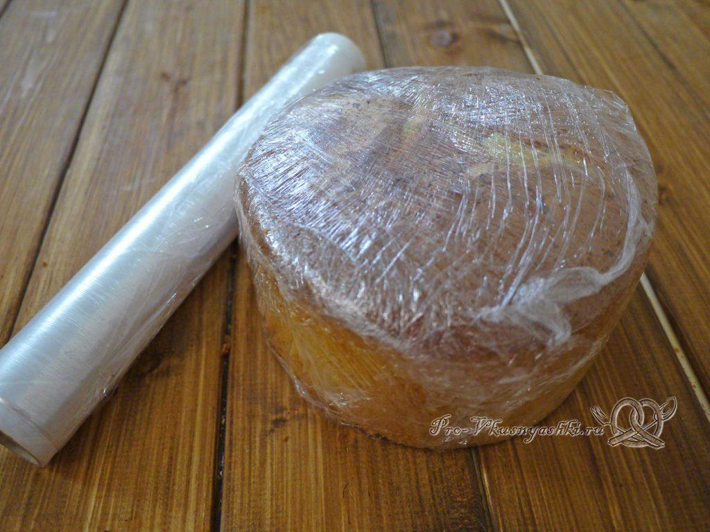 Торт «Ангел» - заворачиваем бисквит в пленку