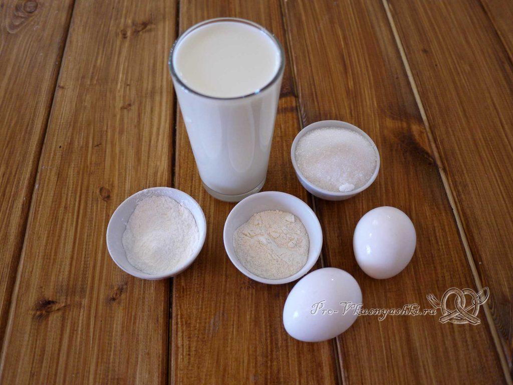 Заварной крем для эклеров - ингредиенты