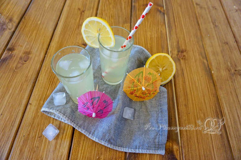 Домашний лимонад из лимонов - готовый лимонад