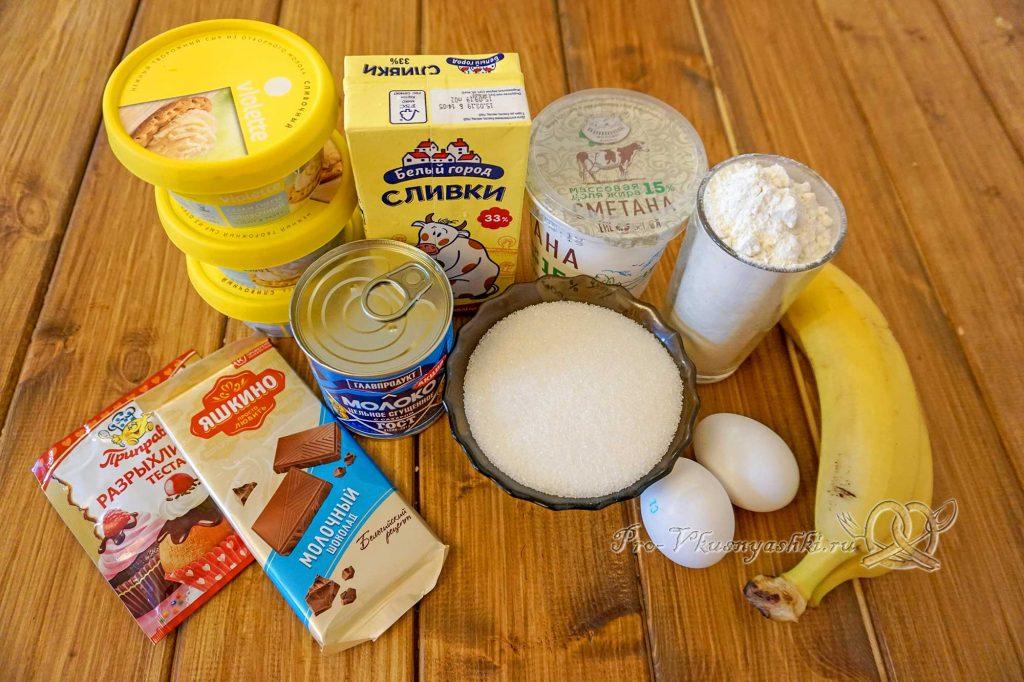 Торт «Молочная девочка» - ингредиенты