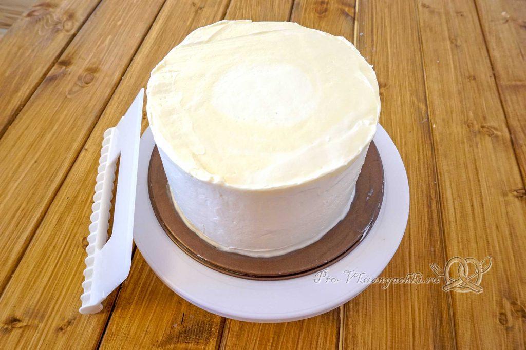 Торт «Молочная девочка» - выравненный торт
