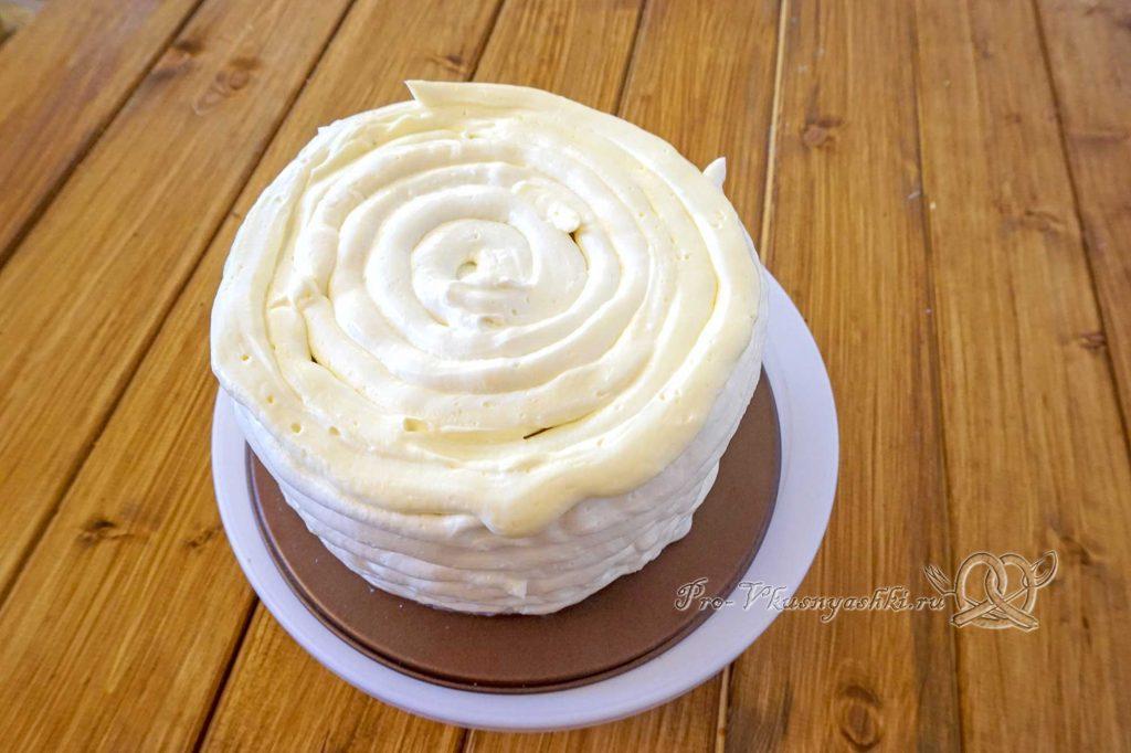 Торт «Молочная девочка» - выравниваем торт