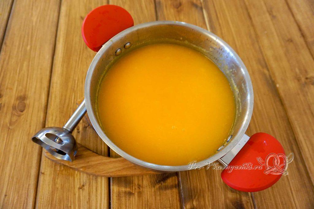 Тыквенный сок в домашних условиях - измельчаем тыкву блендером