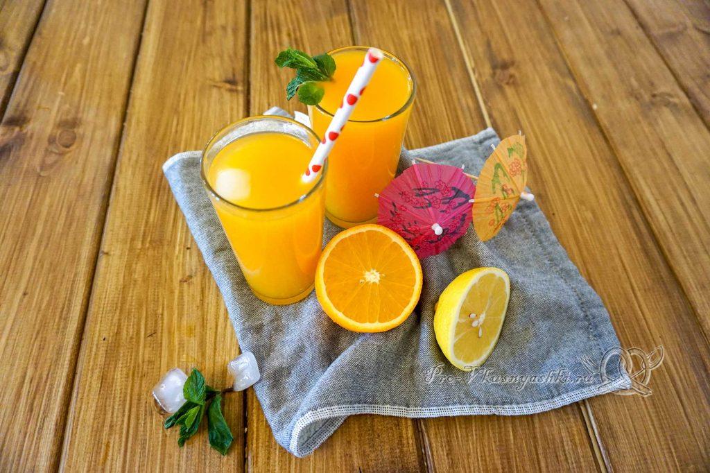 Тыквенный сок в домашних условиях - подача