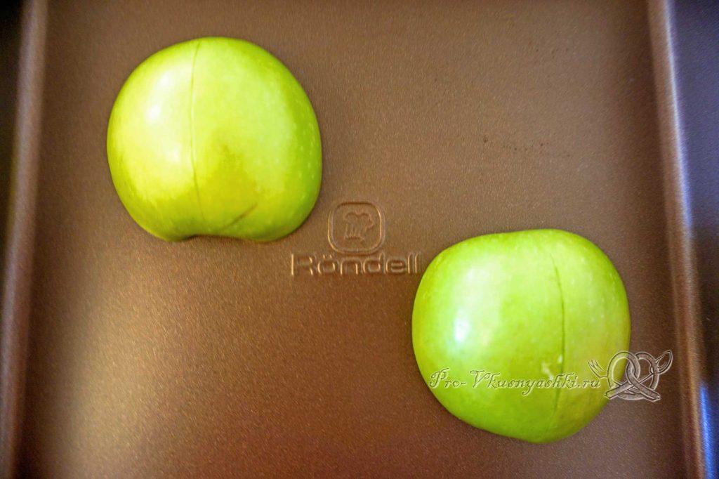Домашний зефир с малиной и острым перцем - запекаем яблоки