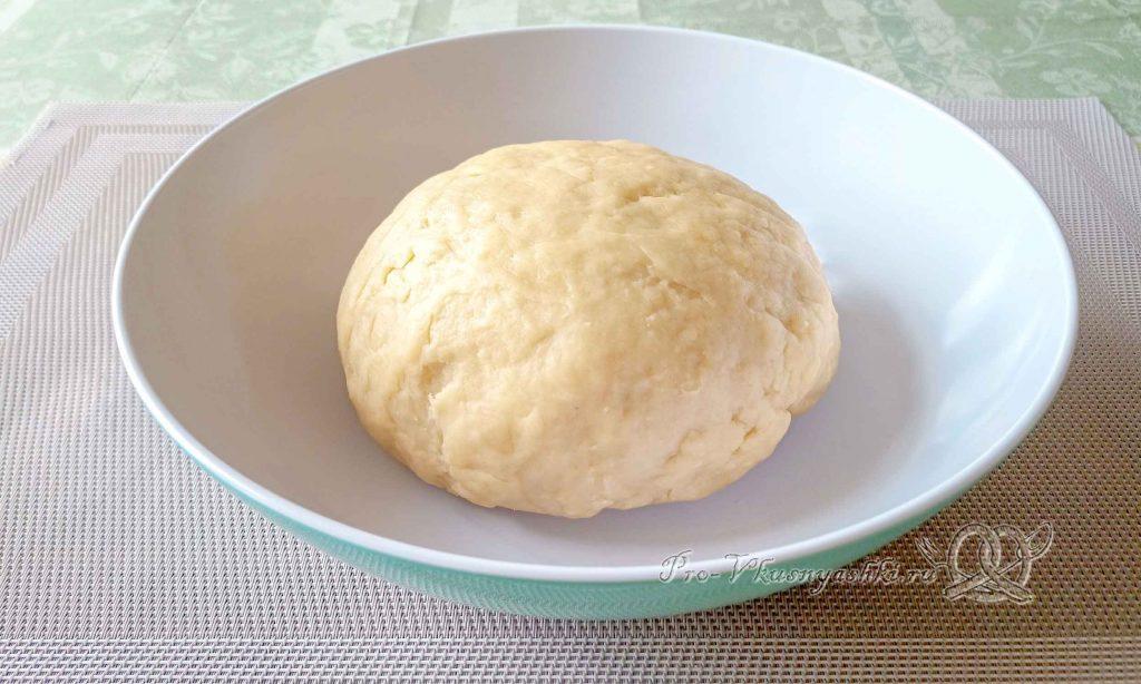 Баварский сливовый пирог - готовое тесто