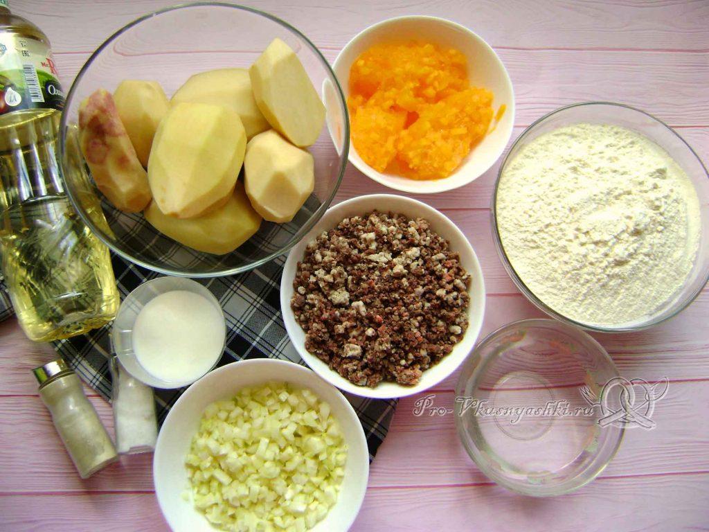 Эчпочмак по-татарски - ингредиенты
