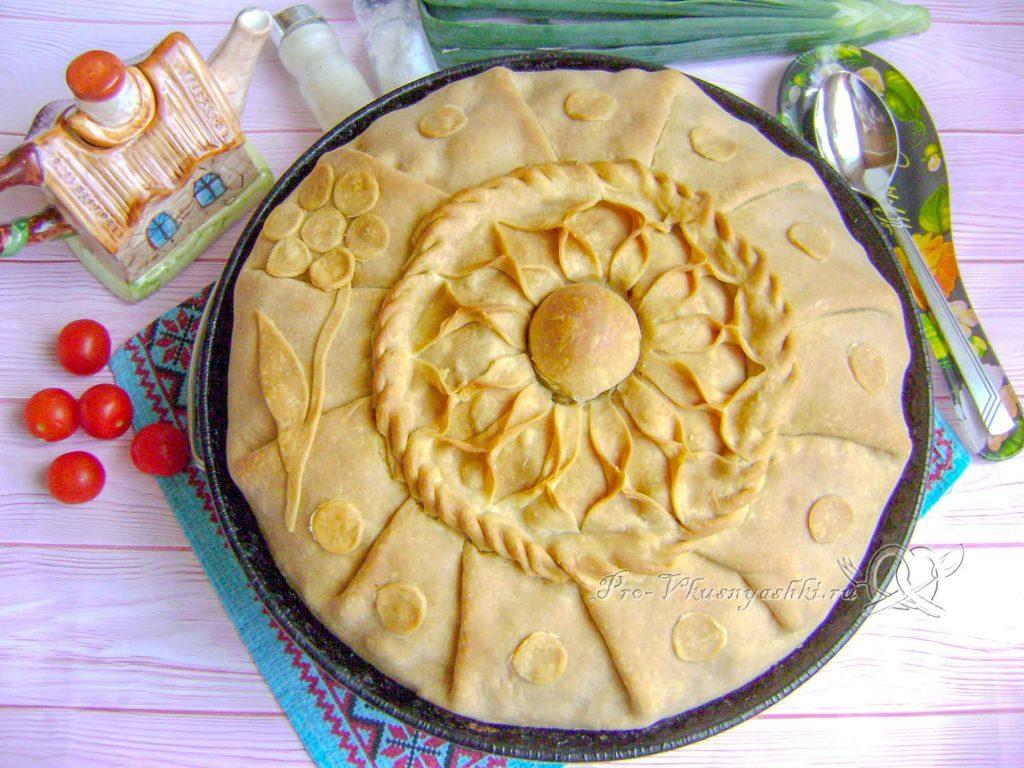 Зур бэлиш татарский - готовое блюдо