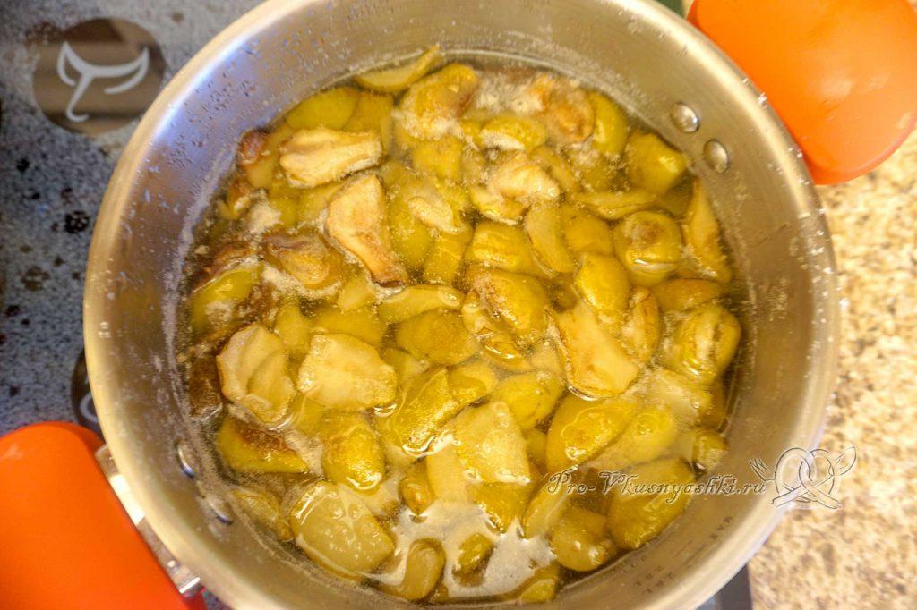 Варенье из груш на зиму - варим груши второй раз