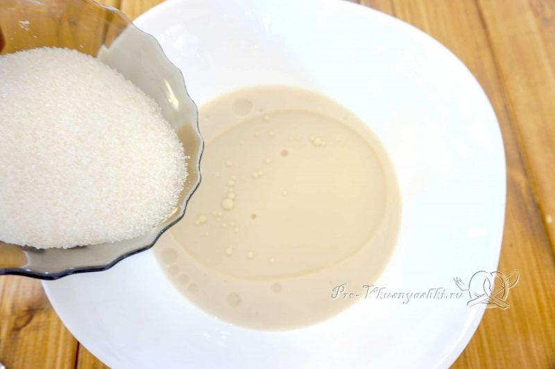 Пампушки с чесноком к борщу - добавляем сахар