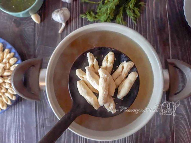 Чеченские галушки с мясом - варим галушки