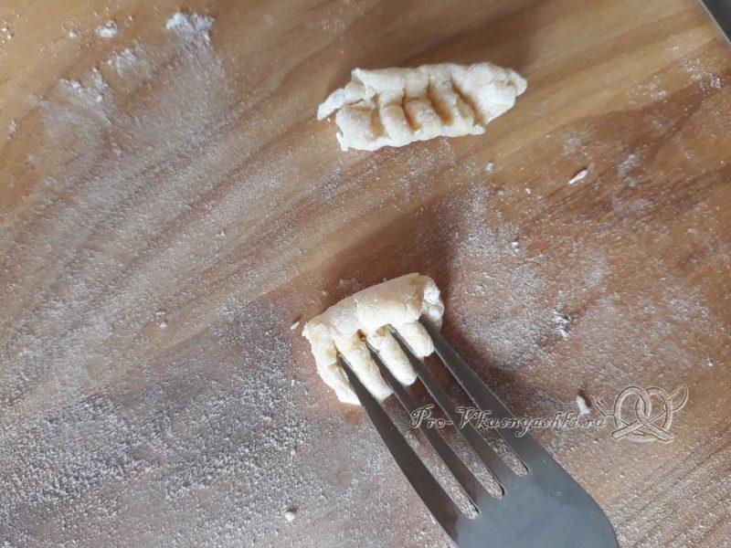 Суп с клецками - формуем клецки