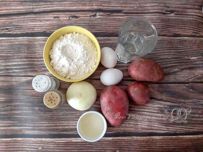 Украинские галушки - ингредиенты