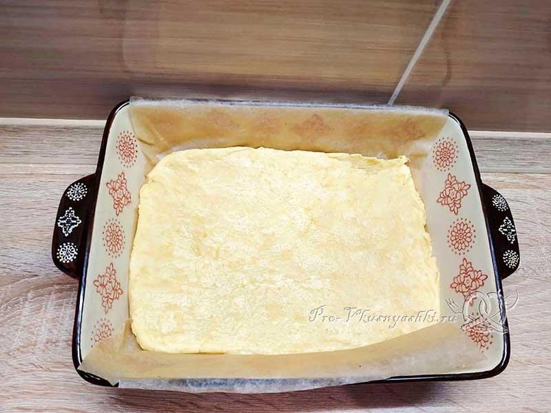 Домашние ванильные пирожные - выпекаем бисквит