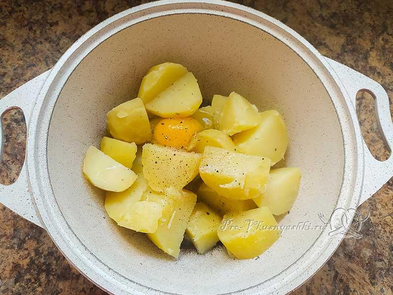 Картофельные шарики из пюре с сыром - готовим картофельное тесто