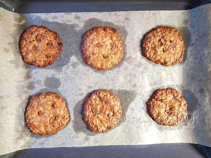 Домашнее овсяное печенье без муки - выпекаем печенье