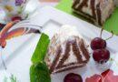 Творожный домик из печенья без выпечки - готовое блюдо